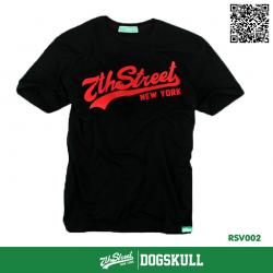 เสื้อยืด 7TH STREET - รุ่น 7th Street | Black