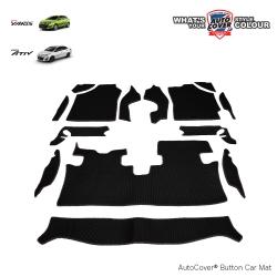 พรมกระดุม Super Save รถ TOYOTA ALL NEW YARIS 5DOOR & ATIV 4 DOOR ปี 2018-2020 จำนวน 14 ชิ้น