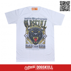 เสื้อยืด OLDSKULL : EXPRESS BLACK PANTHER | WHTE XL