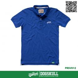 เสื้อโปโล - POLO Shirt รุ่น 7th Street   Blue