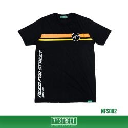 เสื้อยืด 7TH STREET - NEED FOR STREET : BLACK