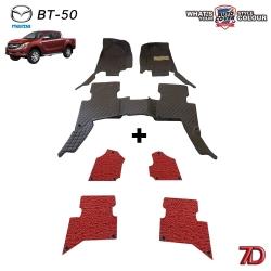 พรมรถยนต์ 7 D Anti Dust รถ MAZDA BT-50 PRO 4 DOOR ปี 2012-2017 จำนวน 3+4 ชิ้น