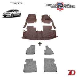 พรมรถยนต์ 7 D Anti Dust รถ TOYOTA ALL NEW ALTIS 2014-2019