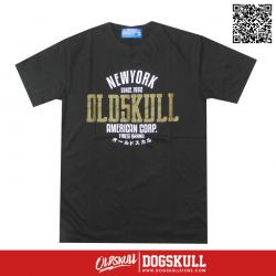 เสื้อยืด OLDSKULL : ULTIMATE HD #08 | LIGHT BLACK