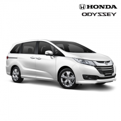 พรมดักฝุ่นไวนิล ชุด All Full จำนวน 17 ชิ้น Honda All New Odyssey 2014-2018