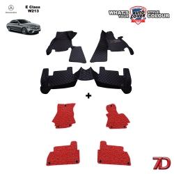 พรมรถยนต์ 7 D Anti Dust รถ MERCEDES - BENZ E CLASS (W213) จำนวน 3+4 ชิ้น
