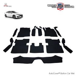 พรมกระดุม Super Save รถ Honda All New Civic FC ปี 2016-2020 ชุด Full จำนวน 14 ชิ้น