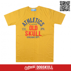 เสื้อยืด OLDSKULL: ULTIMATE #495   YELLOW