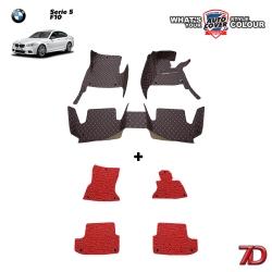 พรมรถยนต์ 7 D Anti Dust รถ BMW SERIES 5 รหัสตัวถัง F10 ปี 2010-2018 รุ่น 520i , 523i , 525i , 520D , 525D