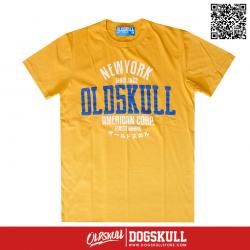 เสื้อยืด OLDSKULL : ULTIMATE HD #08   YELLOW