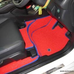 พรมดักฝุ่นไวนิล รถ Honda HRV ชุด Full (เฉพาะในเก๋ง) จำนวน 11 ชิ้น