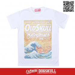 เสื้อยืด OLDSKULL : EXPRESS FIRE SEA | WHITE