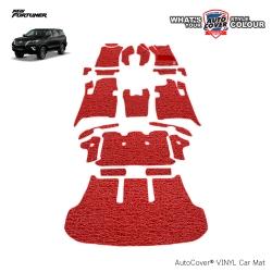 พรมดักฝุ่นไวนิล รถ Toyota All New Fortuner ปี 2015-2019 เกียร์ AUTO ชุด All Full จำนวน 21 ชิ้น