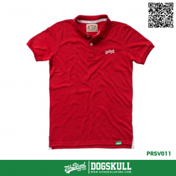 เสื้อโปโล - POLO Shirt รุ่น 7th Street   Red