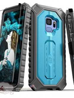 เคสกันกระแทก Samsung Galaxy S9 [Croco Series] จาก E LV [Pre-order USA]