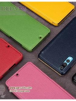 เคสหนังแท้สุดหรู Huawei P20 และ P20 Pro (กรุณาระบุ) จาก TETDED [Pre-order]