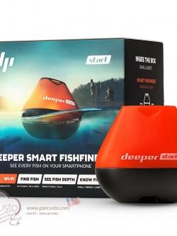 โซน่าจิ๋วอัจฉริยะช่วยหาปลา Deeper START Smart Fish Finder รุ่นประหยัด [Pre-order USA]
