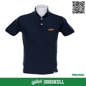 เสื้อโปโล - XL POLO Shirt รุ่น 7th Street | Navy Blue