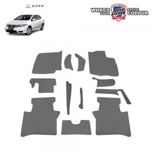 พรมกระดุม Super Save รถ Honda City ปี 2008-2013 ชุด Full จำนวน 12 ชิ้น