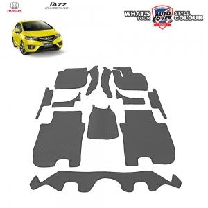 พรมกระดุม Super Save รถ Honda All New Jazz (GK) 2014-2019 ชุด Full จำนวน 12 ชิ้น
