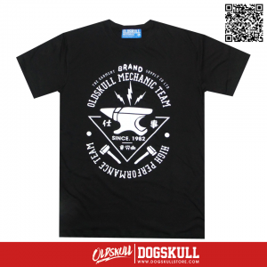 เสื้อยืด OLDSKULL : ULTIMATE HD90 | LIGHT BLACK