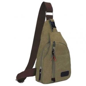 ***พร้อมส่ง*** กระเป๋าแฟชั่น สำหรับสุภาพบุรุษ รหัส MB-0666 (M3-096) สีเขียวทหารใบเล็ก สไตล์เกาหลี ราคาไม่แพง