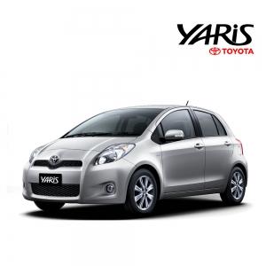พรมดักฝุ่นไวนิล รถ Toyota Yaris 5 ประตู ปี 2008-2013 ชุด Full จำนวน 14 ชิ้น