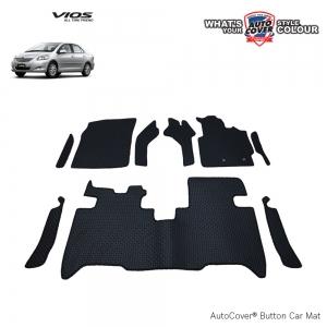 พรมกระดุม Super Save รถ Toyota Vios ปี 2008-2012 ชุด Full จำนวน 9 ชิ้น