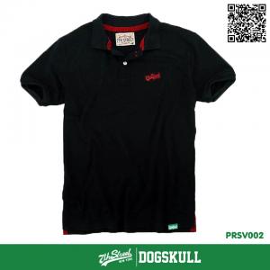 เสื้อโปโล - POLO Shirt รุ่น 7th Street | Black-Red Label