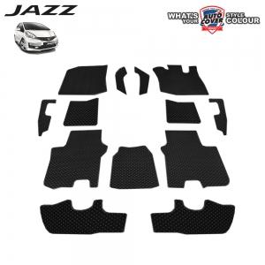 พรมกระดุม Super Save รถ Honda Jazz (GE) 2008-2013 ชุด Full จำนวน 13 ชิ้น