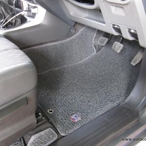 พรมดักฝุ่นไวนิล ชุด Full จำนวน 10 ชิ้น Chevrolet Corolado Cab 2011-2016