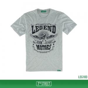 เสื้อยืด 7TH STREET - รุ่น Legend | Top Dry Grey
