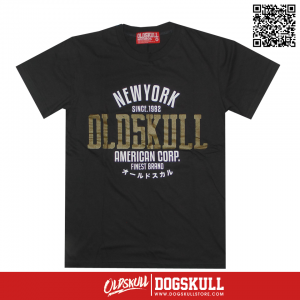 เสื้อยืด OLDSKULL : ULTIMATE HD #08 | LIGHT BLACK