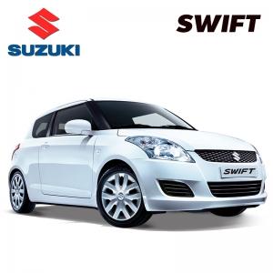 พรมดักฝุ่นไวนิล รถ SUZUKI SWIFT 2012-2017 ชุด Full จำนวน 12 ชิ้น