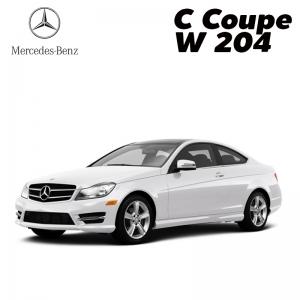 พรมดักฝุ่นไวนิล ชุด Full จำนวน 5 ชิ้น Benz C Coupe 2 Door W 204