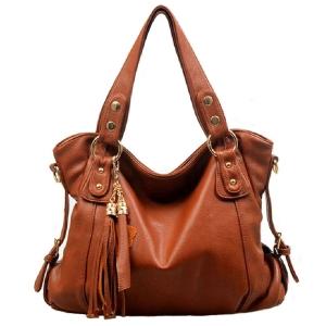 ***พร้อมส่ง*** กระเป๋าหนังแท้ สำหรับสุภาพสตรีทันสมัย รหัส YY-Q04 (Y4-002) สีน้ำตาล สไตล์เกาหลี ราคาไม่แพง