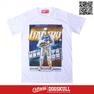 เสื้อยืด OLDSKULL : GALAXY | สีขาว