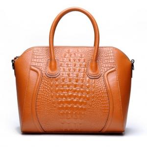 (พรีออเดอร์) กระเป๋าแฟชั่นสตรี รหัส GL-9012 (G4-001) สีน้ำตาล สไตล์เกาหลี สำหรับ สุภาพสตรีทันสมัย ราคาไม่แพง