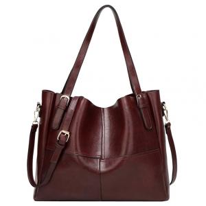 ***พร้อมส่ง*** กระเป๋าหนังแฟชั่นสตรี รหัส BT-734 (B3-013) สีน้ำตาลเข้ม สไตล์เกาหลี สำหรับ สุภาพสตรีทันสมัย ราคาไม่แพง