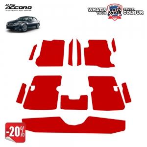 สินค้า PROMOTION!! รถ HONDA ACCORD (G9) พรมกระดุม Original ชุด Full จำนวน 12 ชิ้น สีแดง