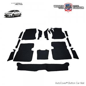 พรมกระดุม Super Save รถ Toyota All New Altis ปี 2014-2019 ชุด Full จำนวน 15 ชิ้น