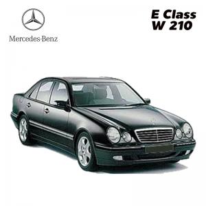 พรมดักฝุ่นไวนิล รถ Benz E Class W 210 จำนวน 5 ชิ้น