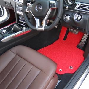 พรมดักฝุ่นไวนิล ชุด Full จำนวน 5 ชิ้น Benz E Class W 212