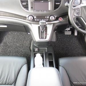 พรมดักฝุ่นไวนิล ชุด Full (เฉพาะในเก๋ง) จำนวน 4 ชิ้น Honda New CRV Gen 4 ปี 2013-2018