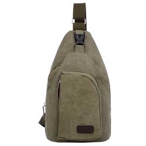 ***พร้อมส่ง*** กระเป๋าแฟชั่น สำหรับสุภาพบุรุษ รหัส MB-0666 (M3-096) สีเขียวทหารใบไหญ่ สไตล์เกาหลี ราคาไม่แพง