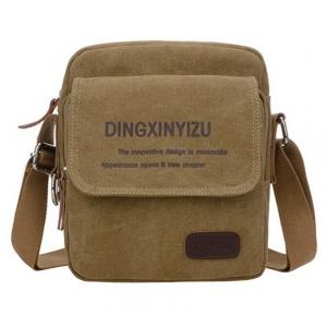 ***พร้อมส่ง*** กระเป๋าผ้าแคนวาส สำหรับสุภาพบุรุษ รหัส MB-0512 (M3-099) สีนํ้าตาล สไตล์เกาหลี ราคาไม่แพง