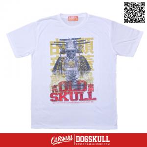เสื้อยืด OLDSKULL : EXPRESS SAMURAI GHOST | WHITE XL
