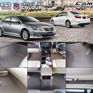 พรมดักฝุ่นไวนิล ชุด Full รถ Toyota Camry ปี 2012-2018 จำนวน 14 ชิ้น