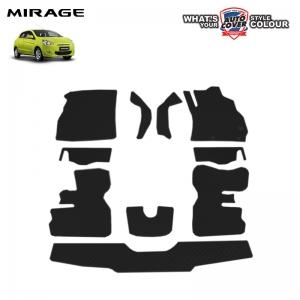 พรมกระดุม Super Save รถ Mitsubishi Mirage ชุด Full จำนวน 11 ชิ้น