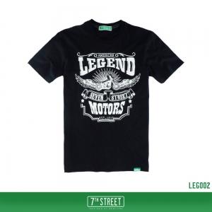 เสื้อยืด 7TH STREET - รุ่น Legend | Black